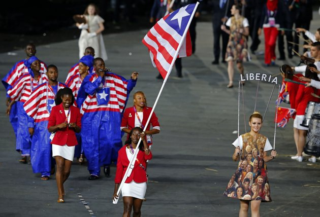 What do they wear in Liberia?