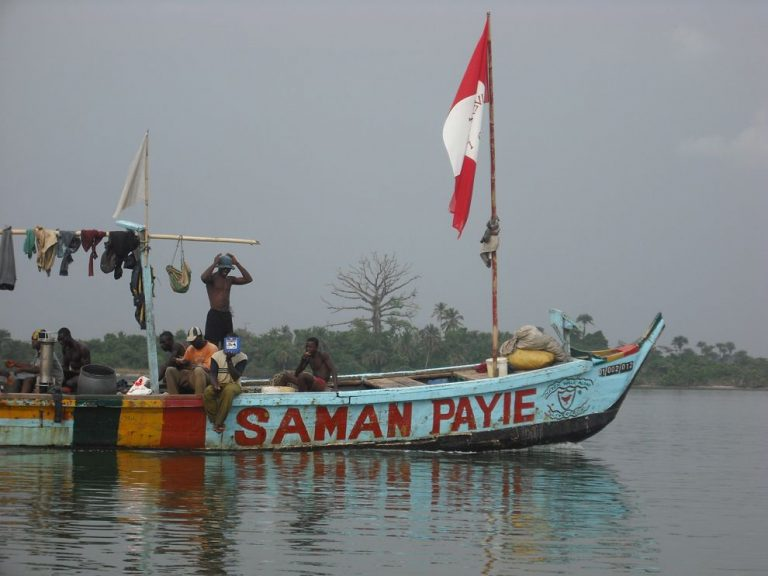 The largest lake in Liberia-Lake Piso