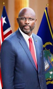 HON. GEORGE WEAH The 23rd President of Liberia